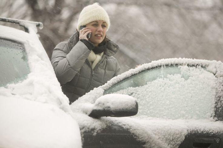 Вниманию водителей: на выходных ожидаются снегопады и мороз до -25С