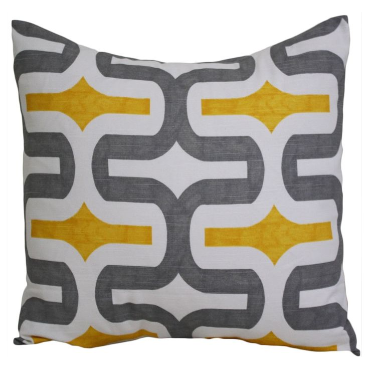 Taylor Marie and Yellow Cushion Cover