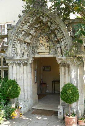 Priory Bay Hotel, amazing doorway.