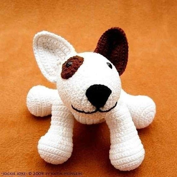 8 best bull crochet images on Pinterest | Bull terrier, Amigurumi ...