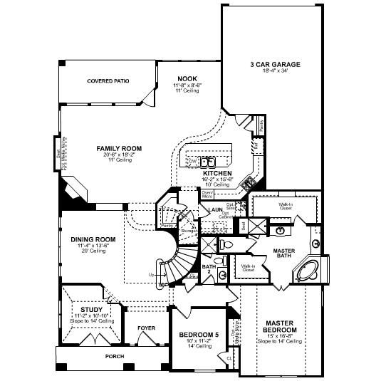 17 best images about floor plans on pinterest walk in 5 bedroom floor plans