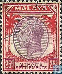 Straits Settlements (British Malaya) - King George V 1936