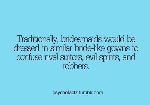 "Okay I am totally informing all of my friends of this when I get married and then hiring a ""kidnapper"" to come during the dress rehearsal!  XD"