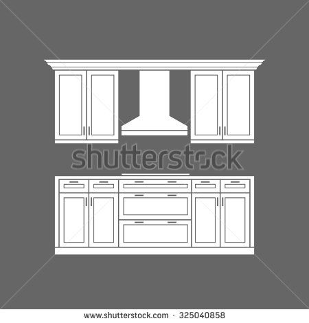 17 best images about kitchen graphic design on pinterest for White stock cabinets