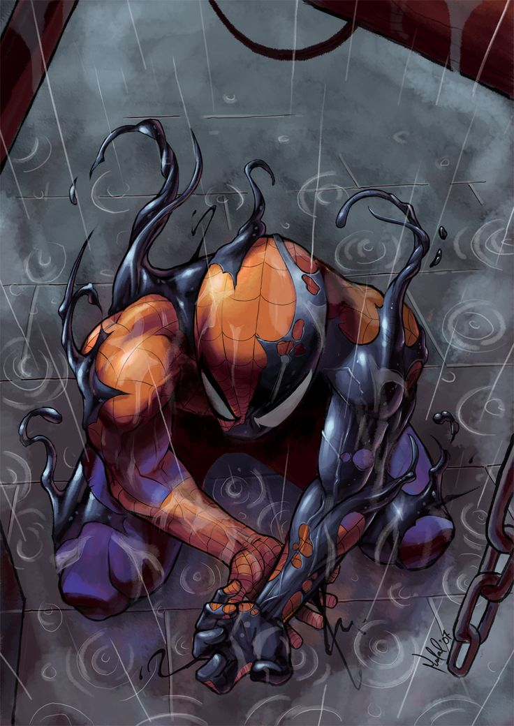 hayleyquinnn:  Parker gets consumed by the alien symbiote. Smell that? Smells like awesome. Symbiote, by Jason Land.