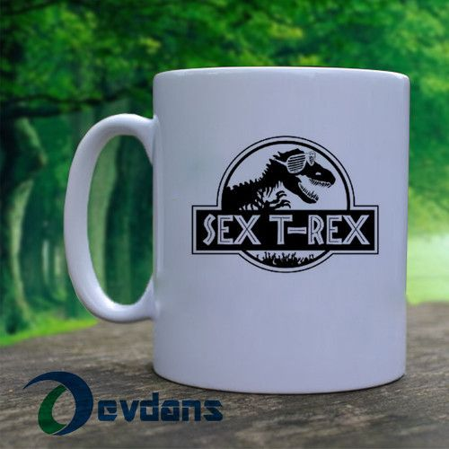 Tea Rex Mug, Ceramic Mug, Coffee Mug , Tea Mug, Milk Mug
