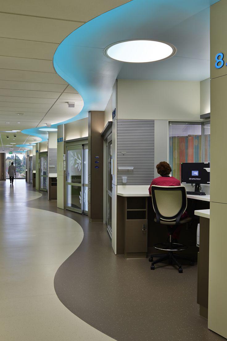 Hospital Corridor Lighting Design: 11 Best Hospital Floor Plans Images On Pinterest