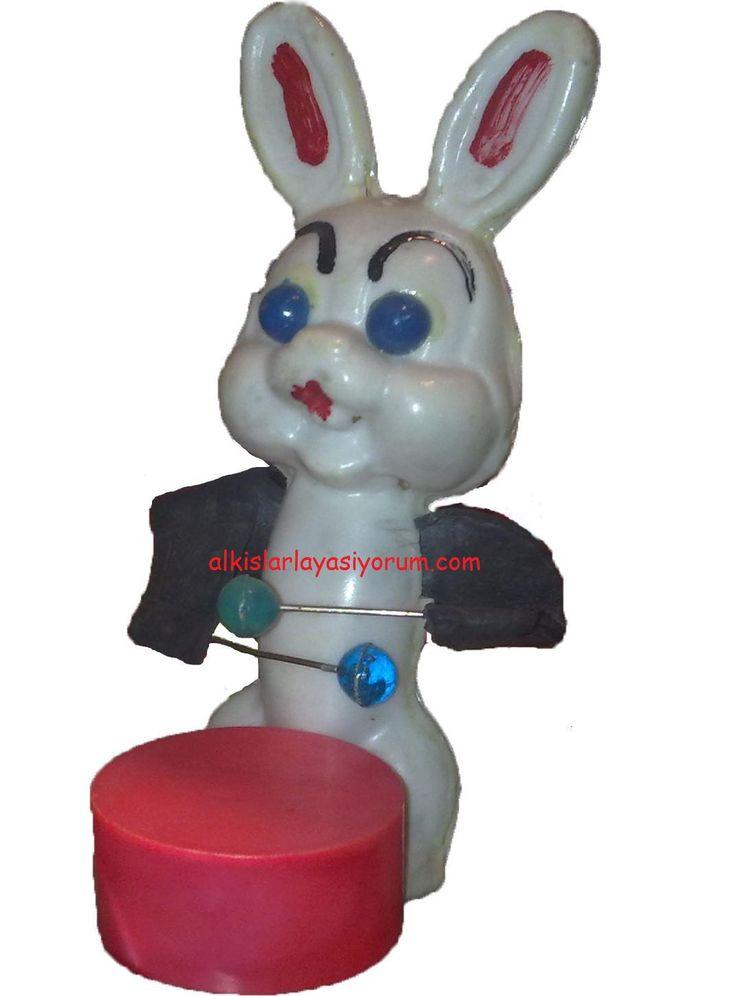 Trampet Çalan Tavşan - 80'ler - 3