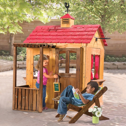 Outdoor Playhouses Toy : Best images about super awesome kids toys on