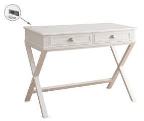 I found a White 2-Drawer Writing Desk at Big Lots for less. Find more Office at biglots.com!