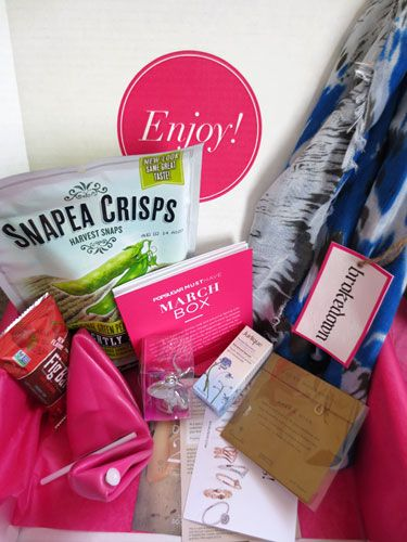 PopSugar Must Have Box March 2014 Full Review and Unboxing!  #popsugarmusthave #musthavebox #popsugar #review #bbloggers #fbloggers #style #beauty #fashion