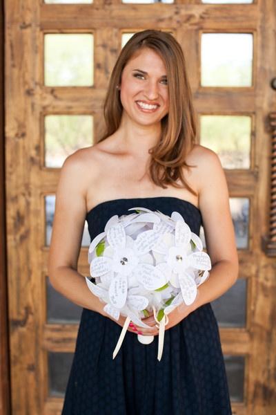 Rehearsal Bouquet of Wishes #diy #wedding #bridalshower