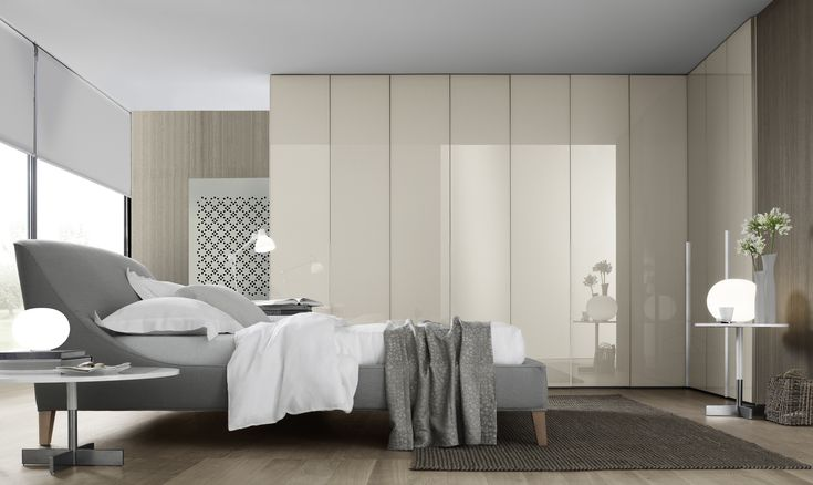 The Ghost Modular Designer Wardrobe is an ideal minimalistic piece of furniture for a modern contemporary bedroom.