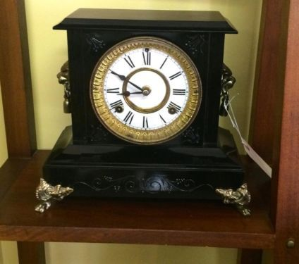 Cast Iron American Clock   $325  Butler Creek Antiques Dealer #8804  Lucas Street Antiques 2023 Lucas Dr. Dallas, TX 75219  Read more: http://dallas.ebayclassifieds.com/home-decor/dallas/cast-iron-american-clock/?ad=39246179#ixzz3Zy1nSLAB