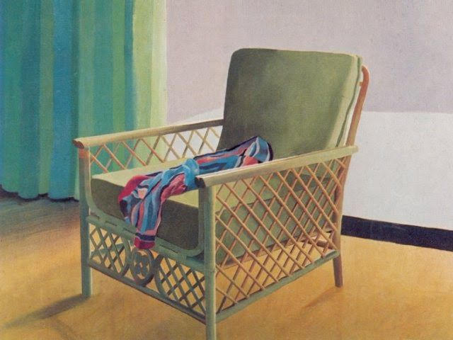 LEAVES OF GRASS: David Hockney's chairs...
