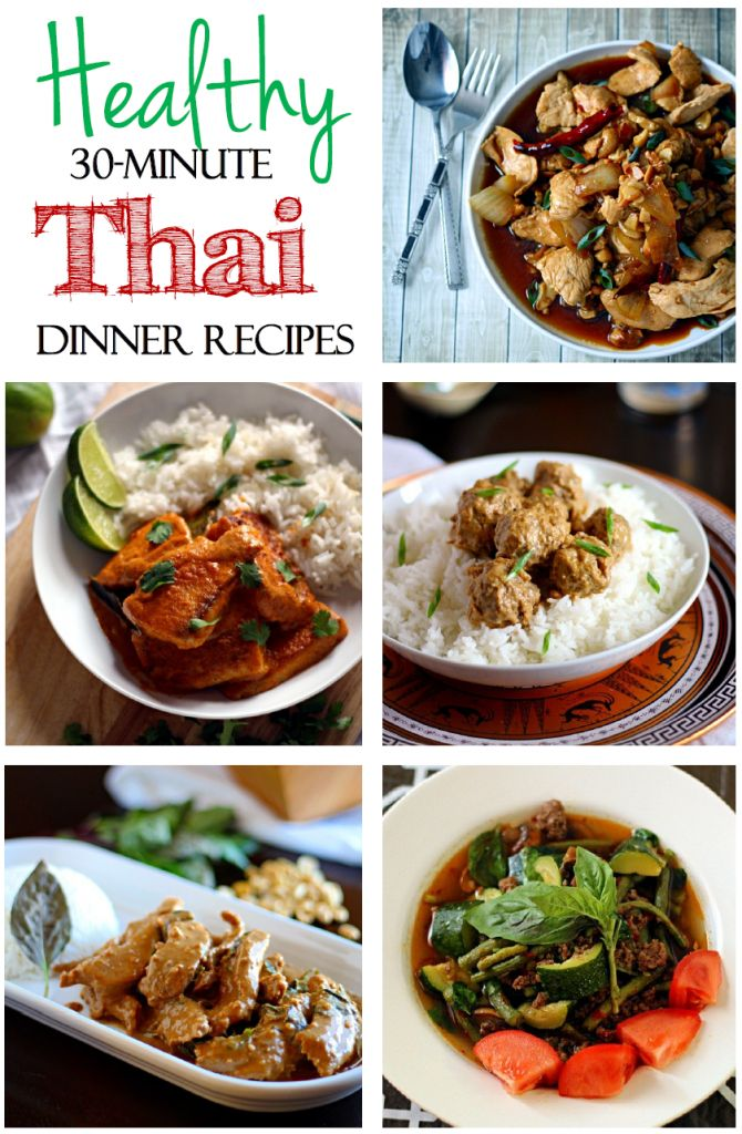 Healthy 30-Minute Thai Dinner Recipes