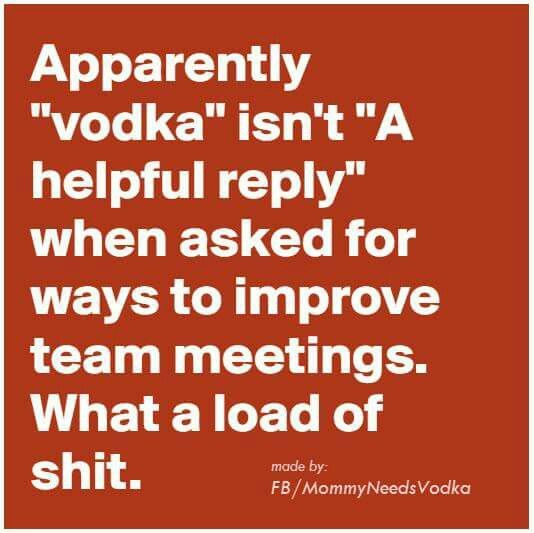 How to improve team meetings!