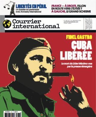 Courrier international N° 1361 - 1er décembre 2016