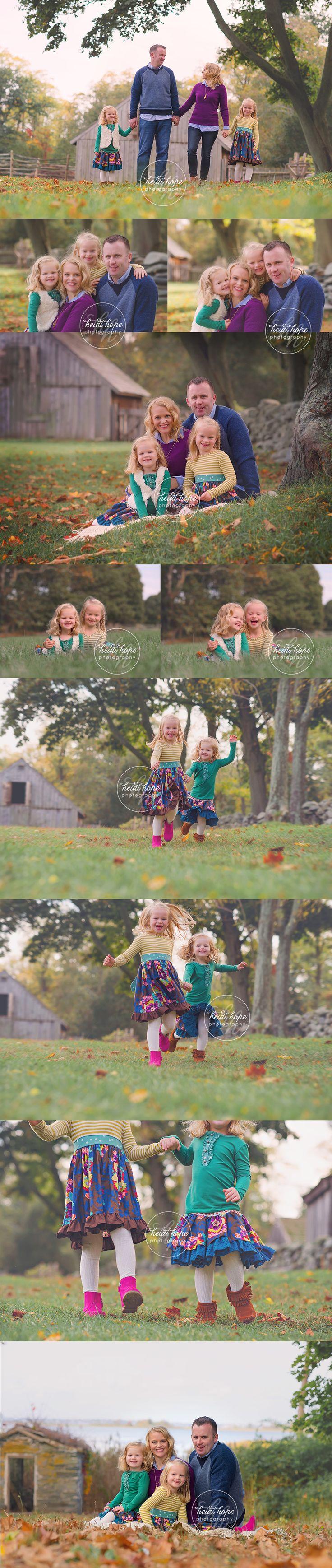 Family portraits at the farm!