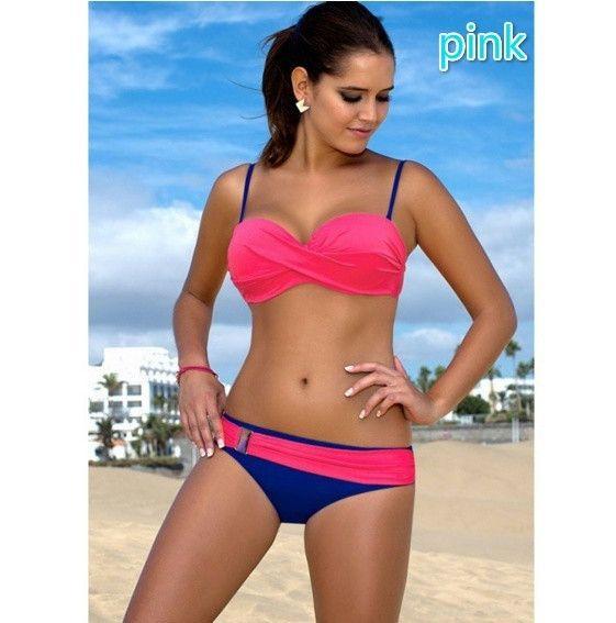 Charlee Cooper Plus Size High Waist Bikini Swimsuit