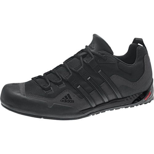 adidas Outdoor Terrex Swift Solo Approach Shoe – Men's Black/Black/Carbon  http: