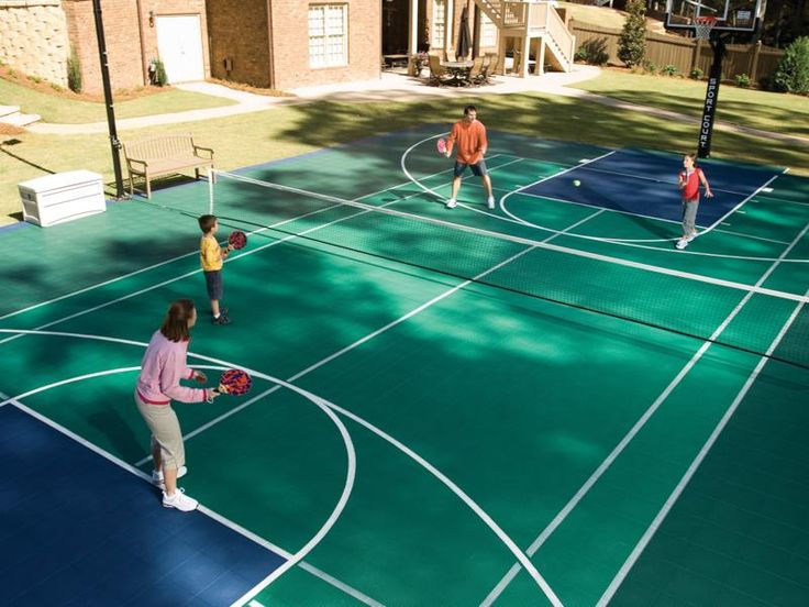 Backyard Sport Court Ideas outdoor sport court ideas designs remodels photos What Is A Family Sports Court It Is Either A Multi Sport Gaming Area Or A Court Dedicated To A Specific Game Such As Tennis Basketball Or Volleyball