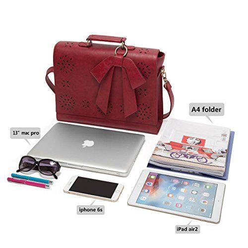 ECOSUSI Borsa Messenger Da Donna Vintage in finta Pelle Borsa a Tracolla Fashion: Amazon.it: Scarpe e borse