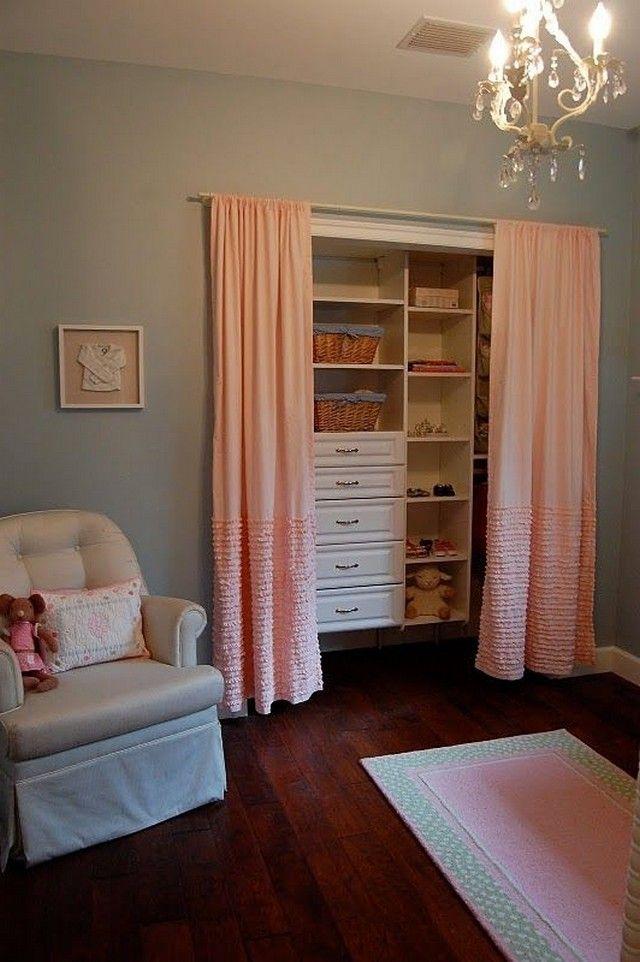 Ikea Panel Curtains As Closet Curtains For Closet Doors
