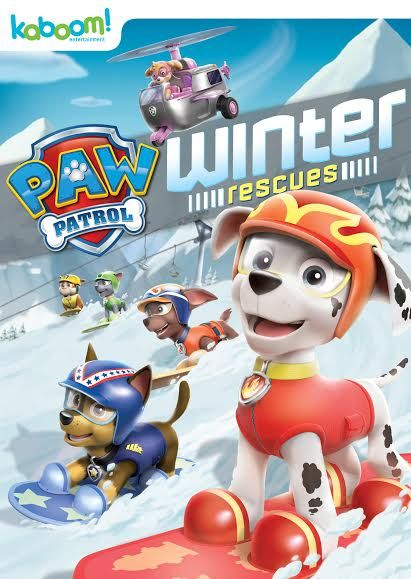 PAW patrol Winter Rescues is now on DVD. Find out more about this new release and enter to WIN a copy now.
