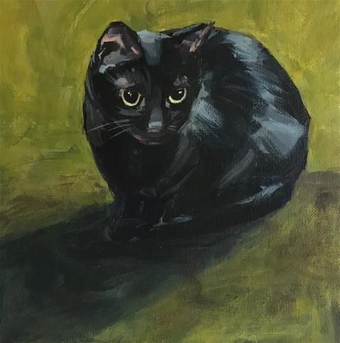 "Daily Paintworks - ""Olive No. 15"" - Original Fine Art for Sale - © Shannon Bauer"