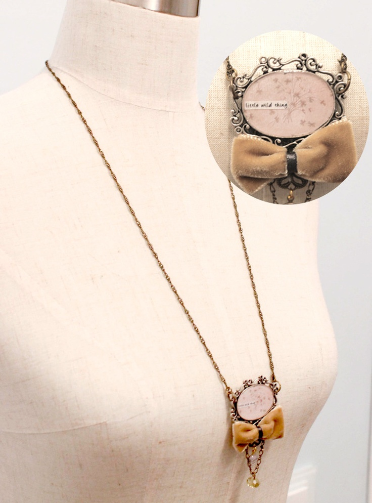 NECKLACE LITTLE WILD THING $34