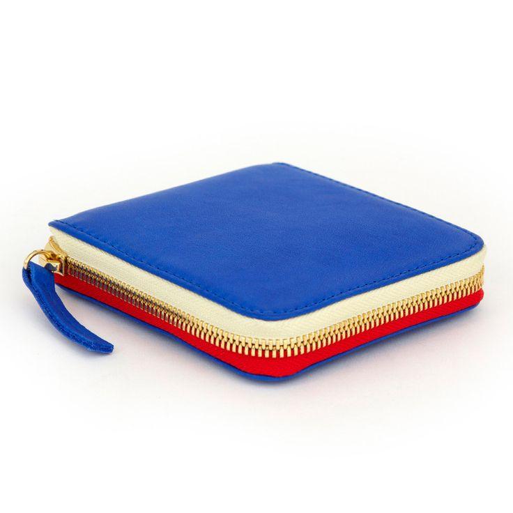 Half Zip Wallet – Clare Vivier