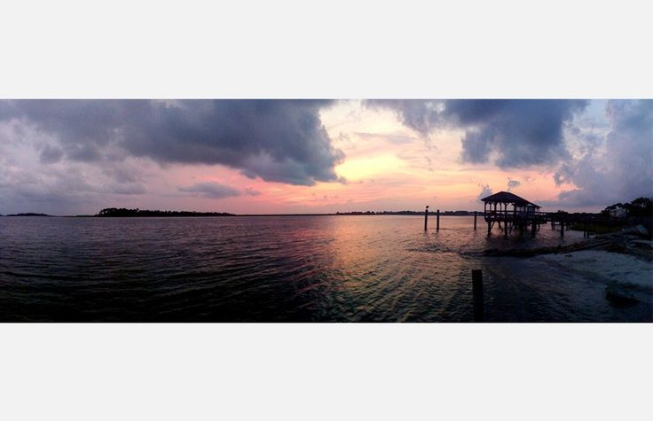 Sunset – Little Tybee, GA – My favorite time of day when traveling