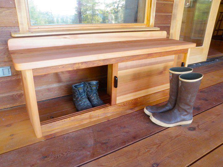 25 best ideas about outdoor shoe storage on pinterest pallet furniture instructions mud. Black Bedroom Furniture Sets. Home Design Ideas