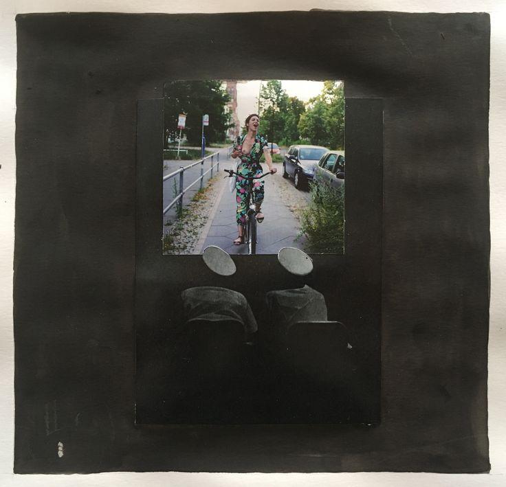 Markus Boesch / Collage 21,4 cm x 22 cm