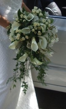 Wedding, Flowers, Reception, White, Green, Bouquet, Ceremony, Brown