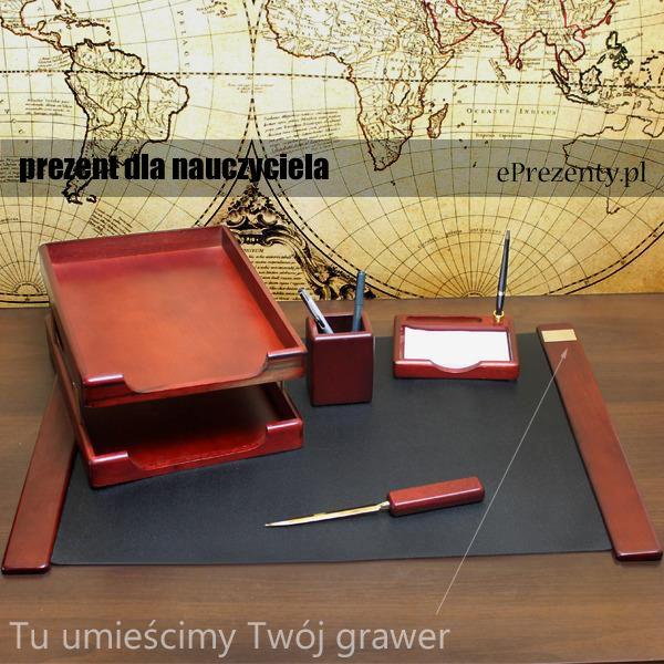 Klasyczny, piękny zestaw na biurko dla każdego nauczyciela sprawdzi się idealnie! http://bit.ly/1LiZMYY