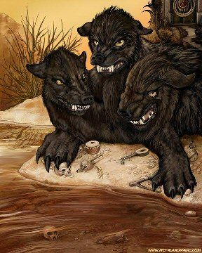 Cerberus - mythical-creatures