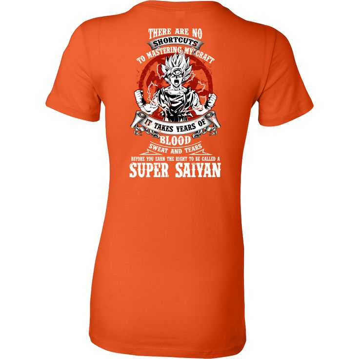 Super Saiyan GOKU TRAINING TO GET YOUR TITLE Woman Short Sleeve T shirt - TL00045WS