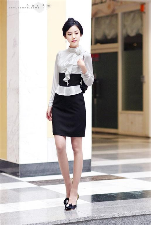 Korean Elegant Dress from Paiye Fashion (paiyefashion.com)