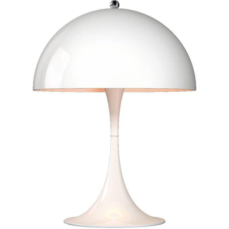 Panthella Mini bordslampa från Louis Poulsen, formgiven av Verner Panton. Detta är miniver...
