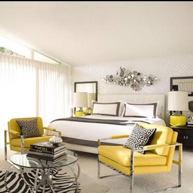Zebra Rug Los Angeles: Modern Master Bedroom Interior Design