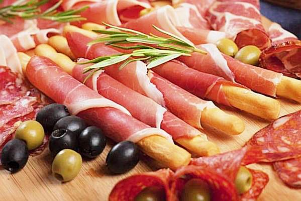 Why don't you give yourself a treat after a long tiring day! Have this snack together with black olives and slices of cheese. Prosciutto ham spread with Dijon mustard-Mayo, wrapped around in crunchy breadsticks. Ingredients 12 very thin slices of prosciutto ham 2 tablespoons Dijon mustard 2 tablespoons goat's cheese 2 tablespoons mayonnaise ground black pepper 12 breadsticks Procedure * In a small bowl. Combine Dijon mustard, goat's cheese, and mayonnaise. Season with pepper. Mix ...