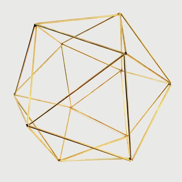 Geometrische vorm Orb van DraadZaken op DaWanda.com