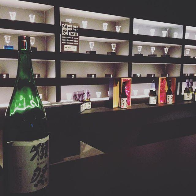 【nao.bluesary】さんのInstagramをピンしています。 《#bar #alchool #japanese #sake #aquarium #art #drink #shop #お酒#獺祭 #酒 #日本酒#バー #アクアリウム #アートアクアリウム#アート#おしゃれ #日本橋#コレド室町#東京#デート#instagood#tokyo#holiday #date》