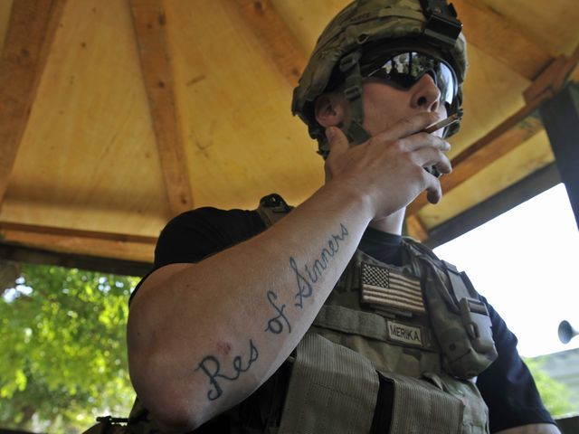 Army announces big changes to the tattoo policy