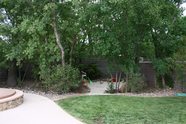 Backyard Sandpit : Sunny Side Up Backyard sand pit  outdoors  Pinterest