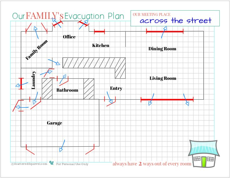Top 25+ Best Evacuation Plan Ideas On Pinterest | Emergency