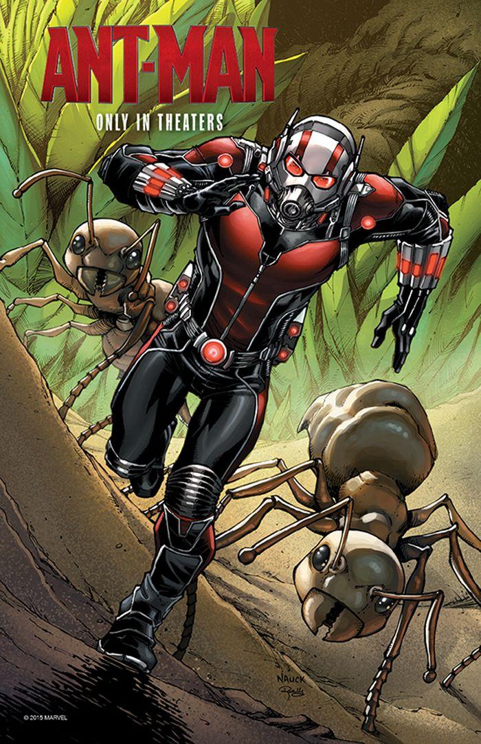 CIA☆こちら映画中央情報局です: Ant-Man : マーベルのヒーロー映画の最新作「アントマン」のポール・ラッドの演じる主人公のスコットが差し入れを受けて、留置場から脱走する本編シーンと、前夜祭興業の結果!! - 映画諜報部員のレアな映画情報・映画批評のブログです