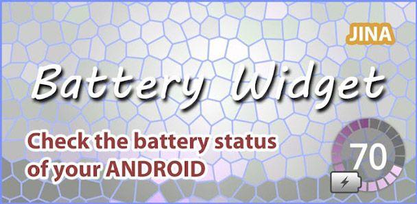 [Guida] Mostrare la percentuale di carica della batteria sulla barra di stato e tra le notifiche con Battery Widget